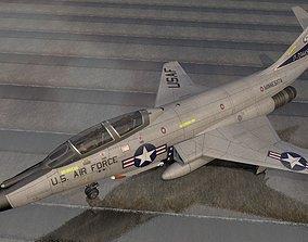 3D McDonnell F-101B Voodoo