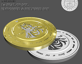 3D printable model 1st Seal of Sol