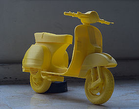 Vespa PX 150 3D printable model