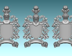 Medieval Blazon-Coat of Arms - 3D print model 2