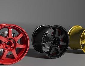 3D painted Rims