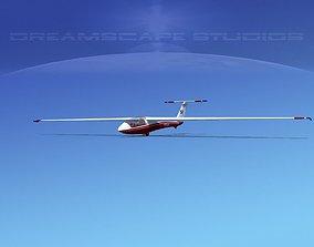 SZD-36 Cobra Glider V05 3D asset
