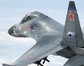 Su-30M2 3D model