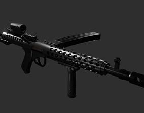 firearm Sterling SMG Modified 3D model
