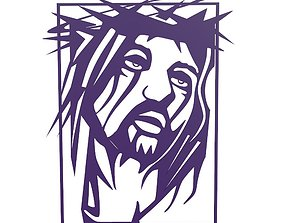 Christ art 3d print model