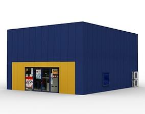 Furniture Store Building 3D asset