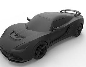 3D print model Lotus Exige 360