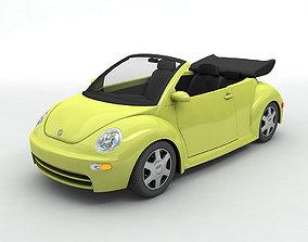 2003 Volkswagen Bug Beetle Convertible 3D model