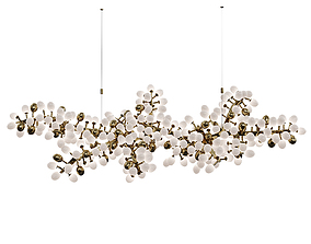 3D model Hudson furniture HORIZONTAL VALIANT Chandelier