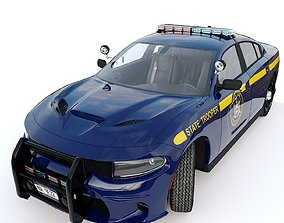 3D model Dodge Charger Hellcat New York State