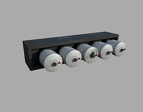 Electrical fuses - standard and 3D model