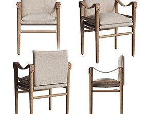 3D model Montauk dining chair