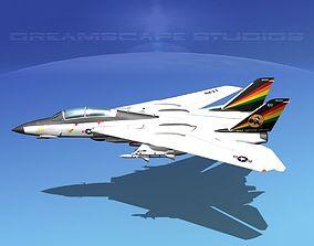 Grumman F-14D Tomcat T15a VF-31 3D