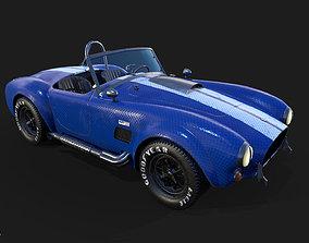 3D model Cobra Car