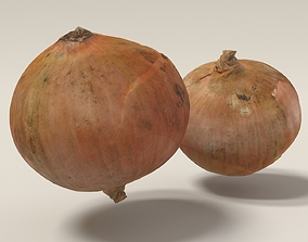 3d scanned onion A
