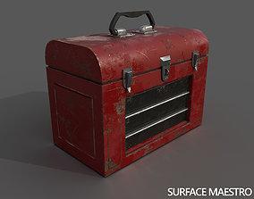 3D asset Old toolbox