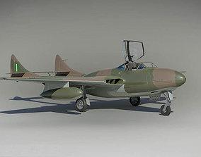 DH T 55 Vamire England 1945 3D model