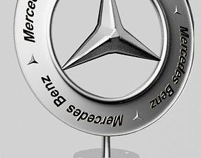 3d printable Mercedes Logo