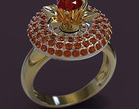 Ring 3D print model obj