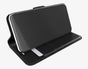 3D Smartphone in a flip wallet case 04
