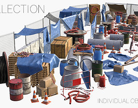 Construction Site Collection 3D