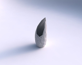 3D print model Vase Tsunami with fine mosaic plates