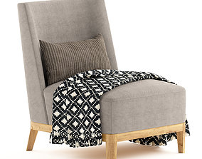 3D Side Chair Christian liaigre mandarin