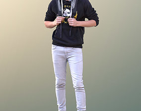Clark 10747 - Standing Casual Guy 3D asset