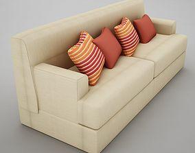 3D model armchair Big sofa