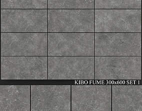 Yurtbay Seramik Kibo Fume 300x600 Set 1 3D