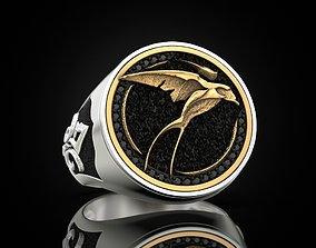 3D print model Swallow Ciri witcher ring