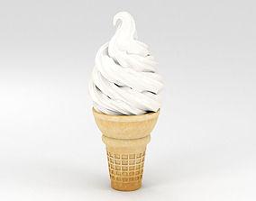 Ice Cream Cone ice 3D model