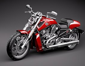 Harley Davidson V-ROD Muscle 3D model