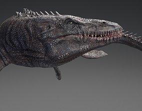 3D model Mosasaurus - Sea Monster Series 4