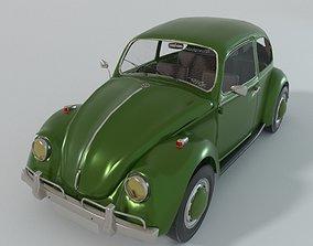 3D model VR / AR ready Volkswagen Beetle