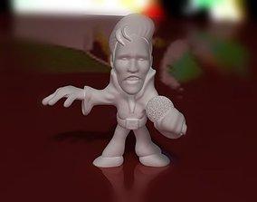 3D print model Elvis Figurine