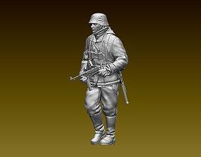 second German soldier 3D printable model