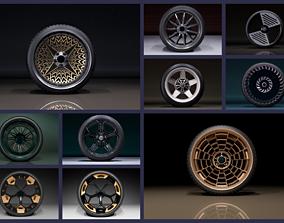 C wheel set 2020 3D