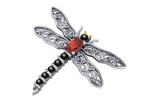 3D print model Dragonfly Pendants