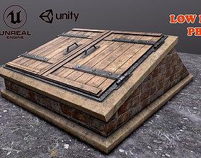3D model Basement Entrance and Basement Environment
