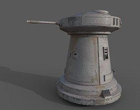3D model Star Wars DF9 Turret