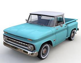 CHEVY C10 V8 PICKUP 1966 3D model