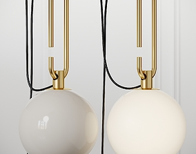 Artemide NH Wall Lamp 3D