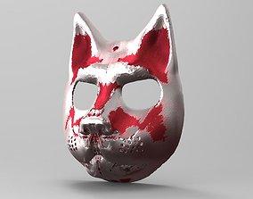 STL MASK - cat 3D print model