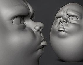 Sad Egg 3D printable model