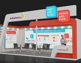 3D Exhibition Stall 289