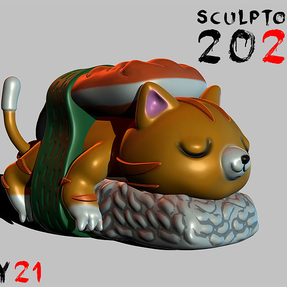 Sculptober Day 21 Fresh