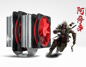 3D Cooler Master CPUcooler CPU heat sink
