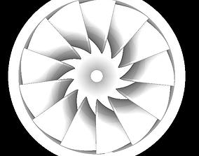 Francis Turbine 3D printable model