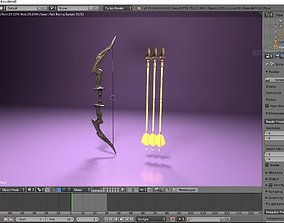 Hunting Bow 3D model